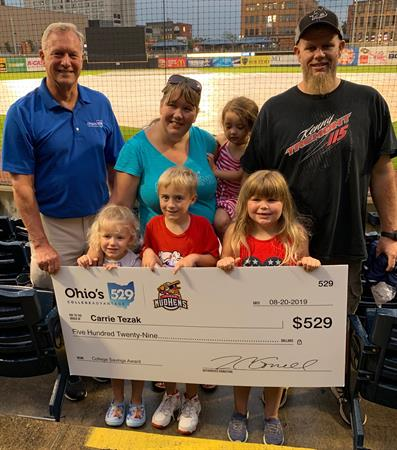 2019 Mud Hens Home Run Reader winner
