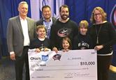 Blue Jackets & CollegeAdvantage College Savings Assist Winners Announced!