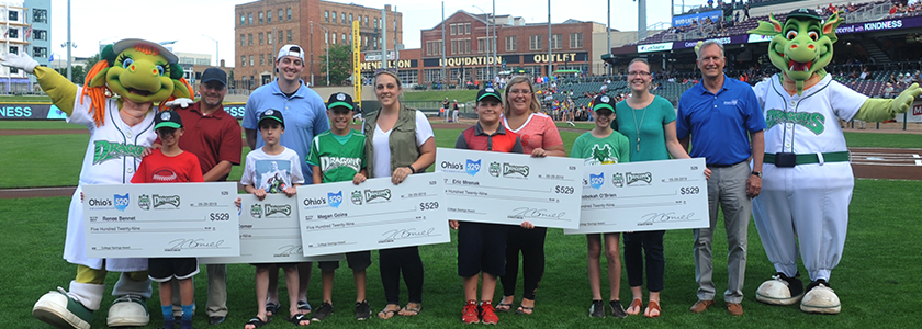 Dayton Dragons Ohio 529 MVP winners